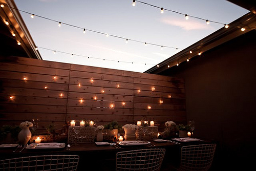 Lighting ideas coffee shop cafe - Luces de terraza ...