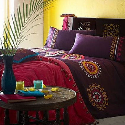 Bohemian style bedroom ideas for Gypsy bedroom decor