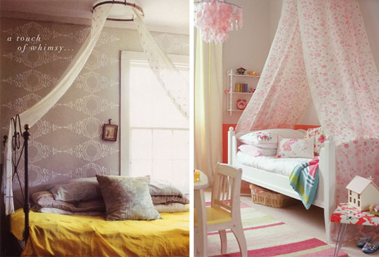 Beautiful canopy ideas diy for Canopy over bed