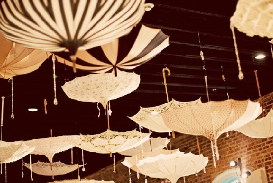 Themed weddings umbrella themed weddings for Decor umbrellas