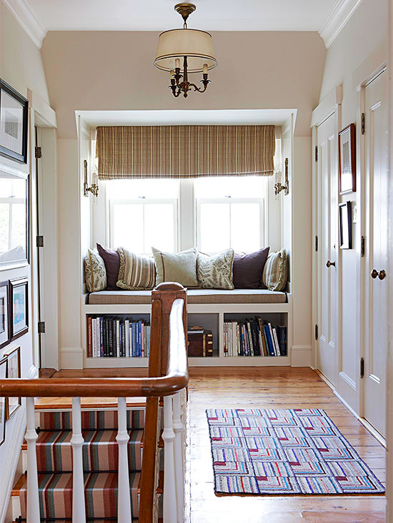Create A Comfortable Reading Nook With These 10 Seating Ideas: Cozy Window Seat Design Ideas