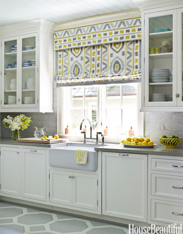 designer window treatments - Designer Kitchen Blinds