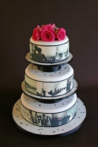No wedding is complete without a cake, there are hundred of ideas you can choose from
