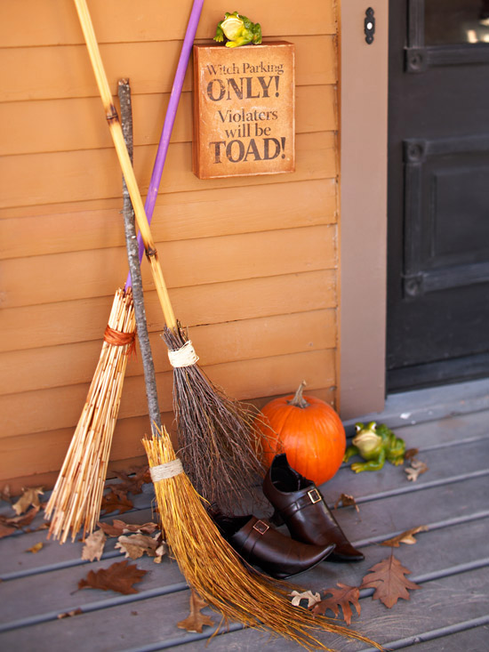 Outdoor halloween decorations for How to make homemade halloween decorations