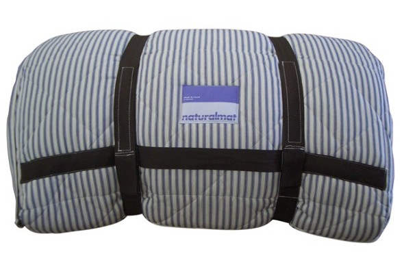made from recycled denim, is an essential for any camper in need of decent sleep
