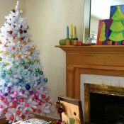 Small Spaces – Christmas Tree Decor Ideas