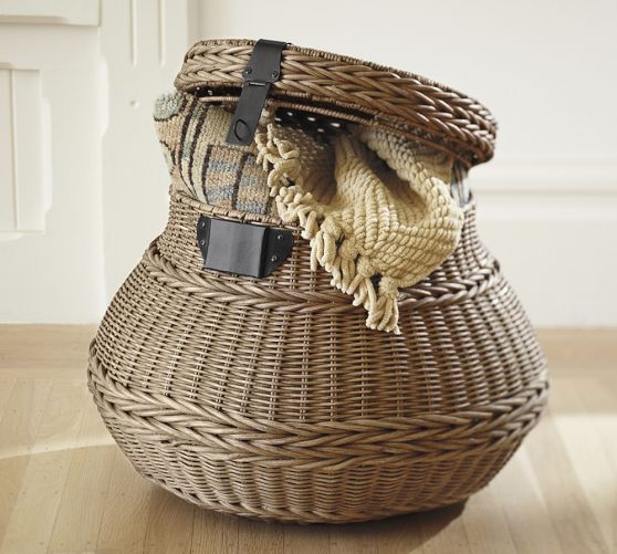 2 Savvy Storage Ideas   Baskets