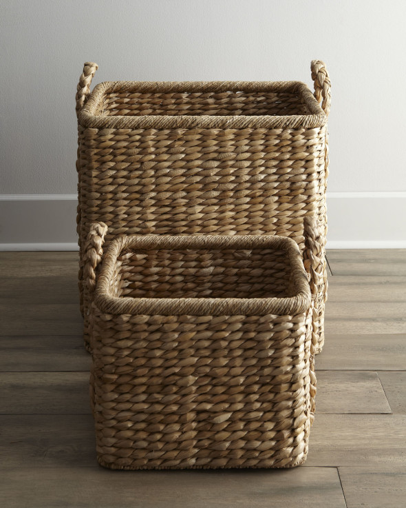 3 590x737 Savvy Storage Ideas   Baskets