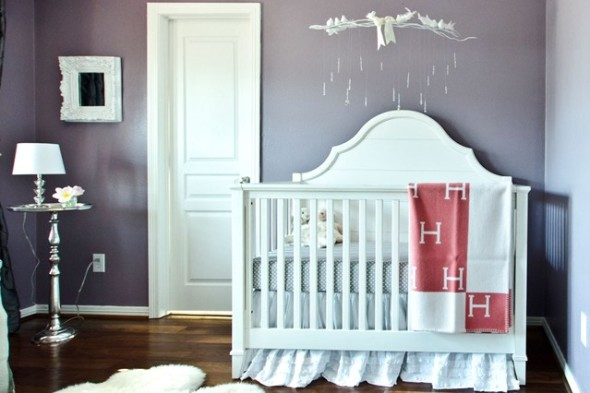 Baby Nursery 1 590x393 Creative Ideas for Baby Nursery