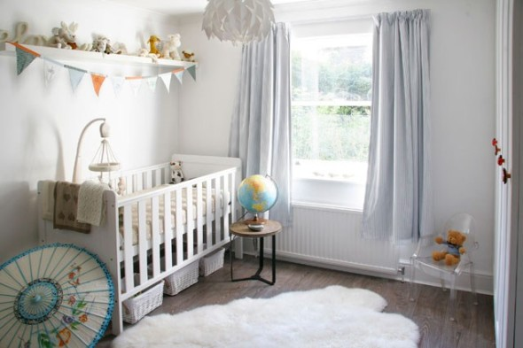 Baby Nursery 6 590x393 Creative Ideas for Baby Nursery