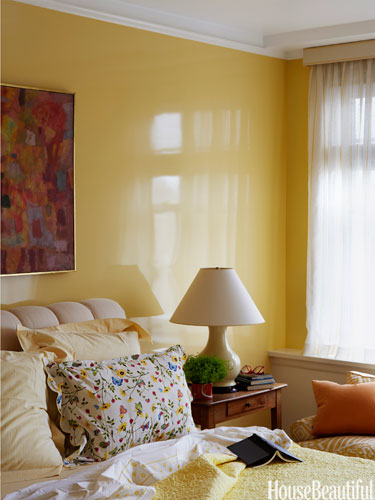 Bedroom Wall Colour Yellow : Bedroom color ideas hot trends