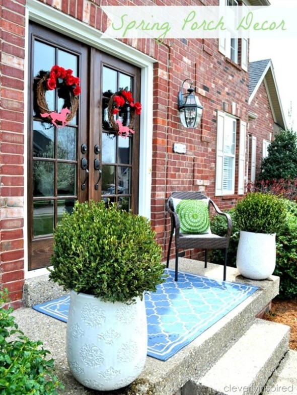 Porch Decor 6 590x785 Outdoor Living Spaces