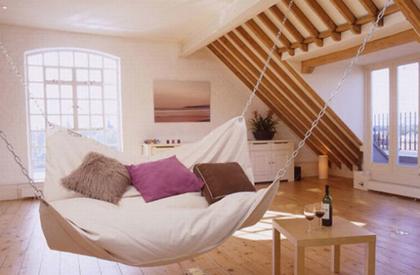 Attic 1 590x386 Attic Bedroom Ideas