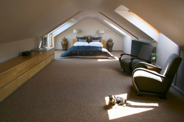 Attic 4 590x393 Attic Bedroom Ideas