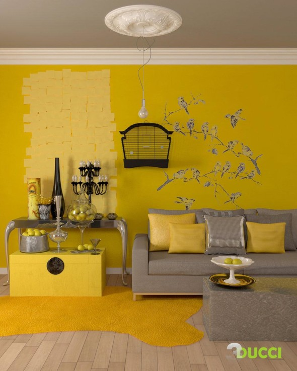 Acid Yellow 590x737 Color Trends 2014