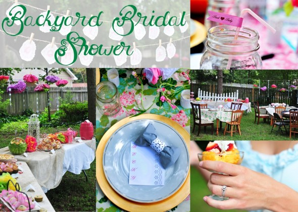 Backyard Bridal Shower 590x421 Bridal Shower Theme Ideas