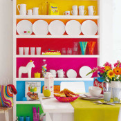 Decorating by Color Blocking