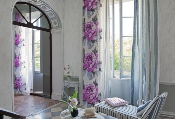 Floral Patterns can give any room a fresh look