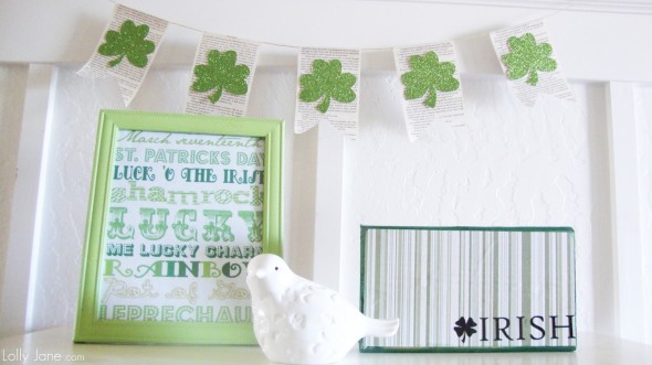 St. Patrick Day Decoration 1 590x331 Decorating Ideas   St. Patricks Day