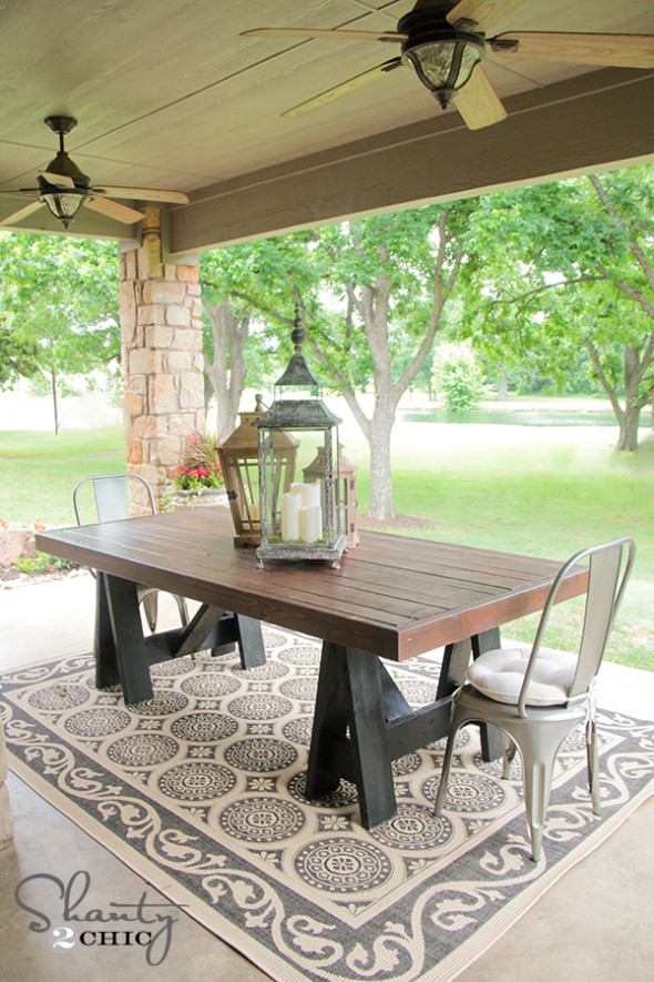 Dining tables diy for Diy dining table