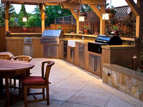 Outdoor Kitchen 2 590x442 Outdoor Kitchen Ideas