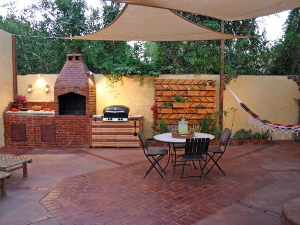 Outdoor Kitchen 6 590x442 Outdoor Kitchen Ideas