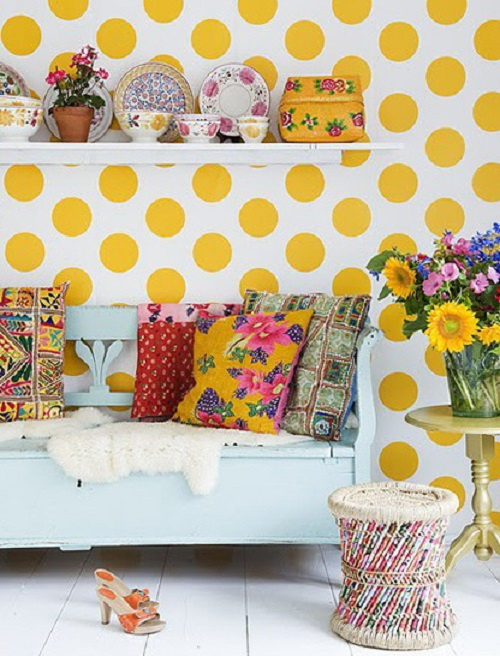 Polka Dots 1 Home Decor Patterns   Trendy & Traditional