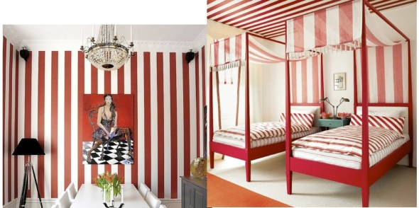 Stripes 590x294 Home Decor Patterns   Trendy & Traditional