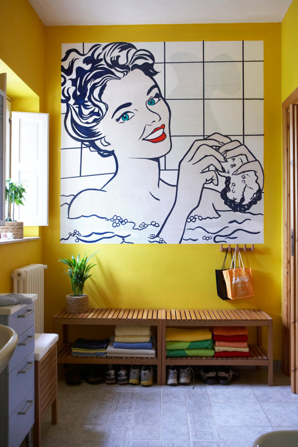Pop Art Decor 1 590x885 Pop Art Decor Ideas