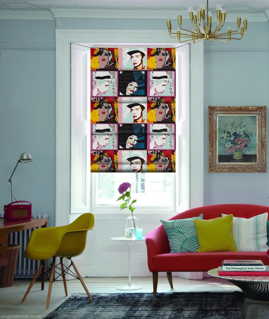 Pop art decor ideas for Decoration bureau maison