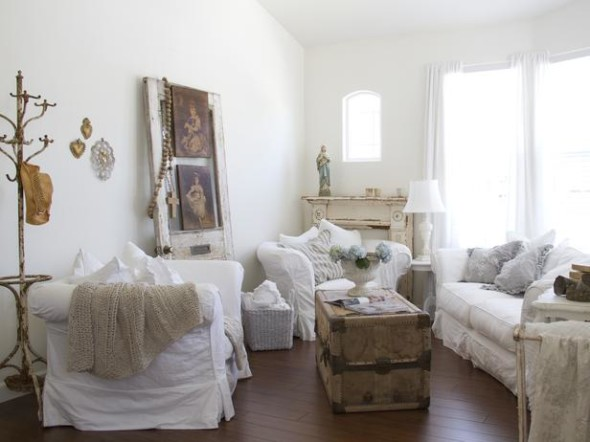 Shabby Chic 1 590x442 Shabby Chic Decor Ideas