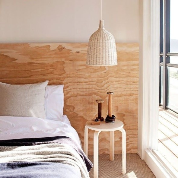 Bedside Lamps 5 590x590 Hanging Bedside Lamps   Ideas & Decor