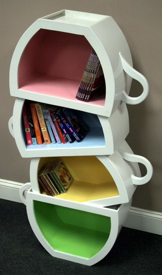 HomeOffice BookShelves 5 531x900 Bookshelve Ideas for Home Office