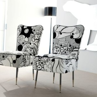 Comic Strips Inspired Decoration