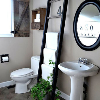 Bathroom Decor – Towel Organization Ideas