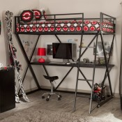 Loft Beds with Desk Underneath