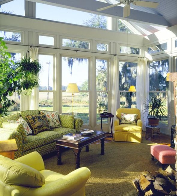sunrooms resemble less outdoor structures than they do finished