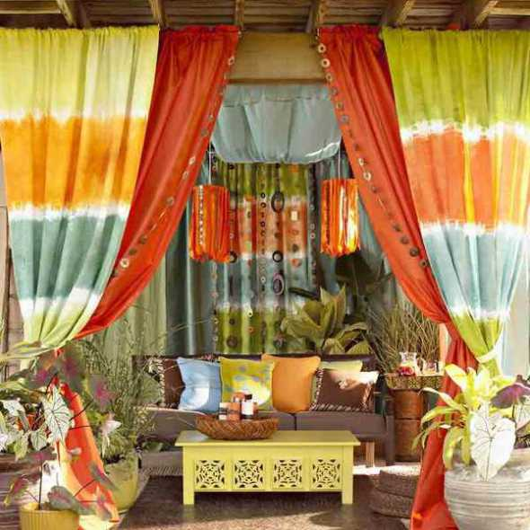 Outdoor curtain Ideas