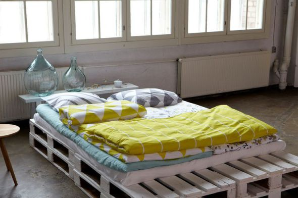 Pallet Bed Ideas- For Minimalist Living