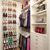 Stylish Walk In Closet Design Ideas