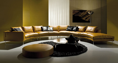 This sofa design is made of many modules, so you decide its exact specifications and size