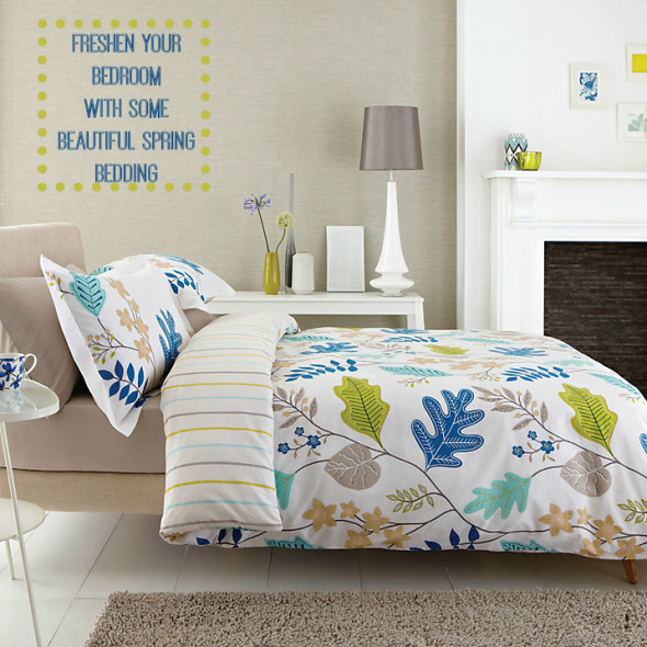 One the quickest ways to bring instant change to any bedroom, new set of bedding