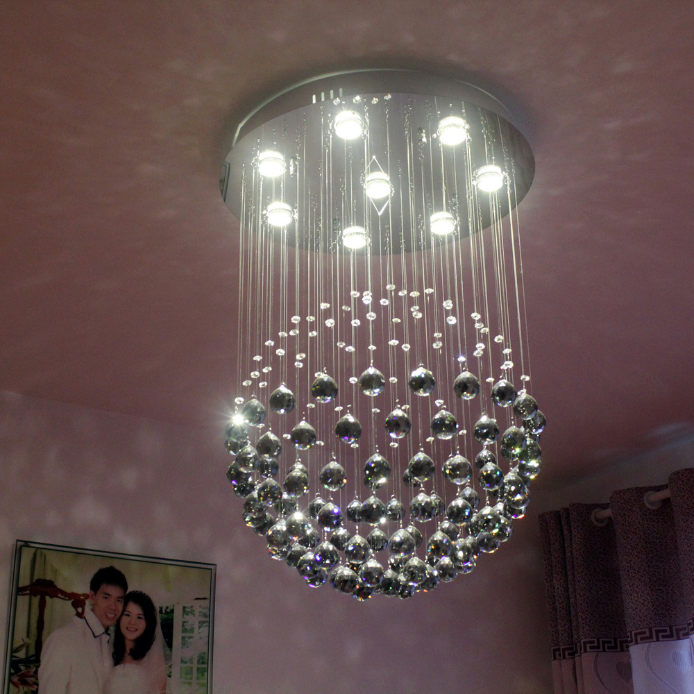 Crystal chandeliers add glamour to your home decor - Chandelier ceiling lamp ...