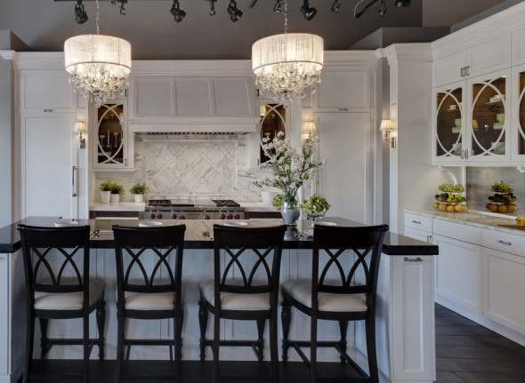 fabulous drum pendant light fixtures living room | Crystal Chandeliers - Add Glamour to Your Home Decor