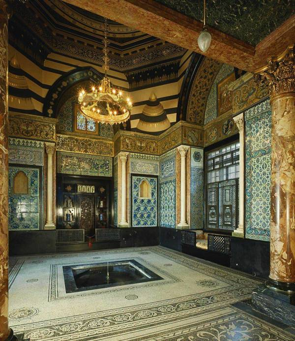 Arab Hall, Leighton House, London, England