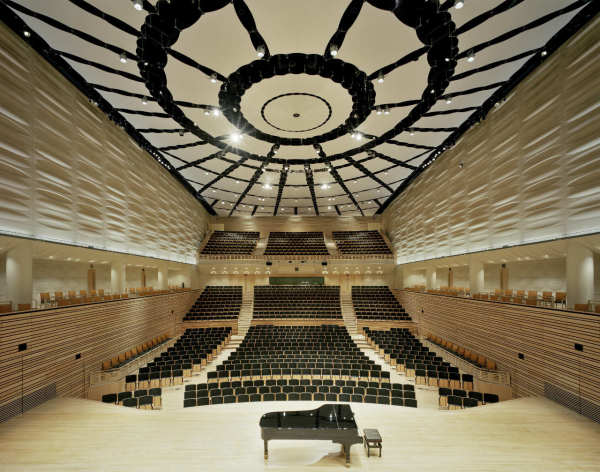 EMPAC Concert Hall @ RPI In Troy NY