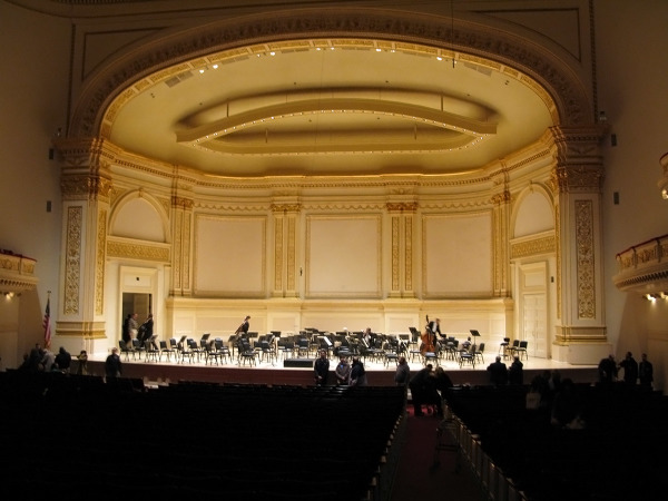 Isaac Stern Auditorium, Carnegie Hall - NYC