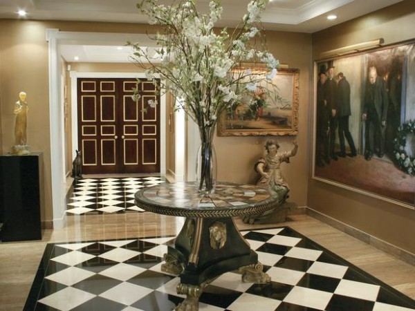 Sophisticated Entrance