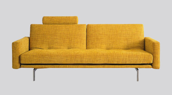 Modern Yellow Sofa Bed