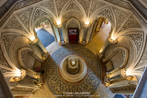 The Hall of Archways at Monserrate Palace, Portugal, [900x600] by Raquel Von Kaminaru